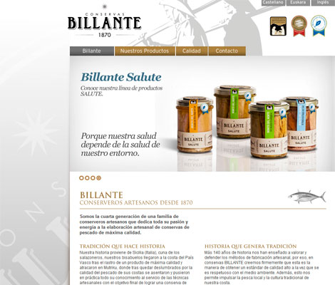 Conservas billante